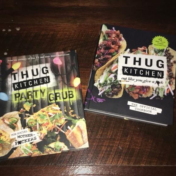 Other Thug Kitchen Cookbook Bundle Poshmark